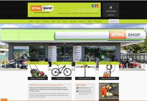 wairarapa web design stihl shop greytown. Black Bedroom Furniture Sets. Home Design Ideas
