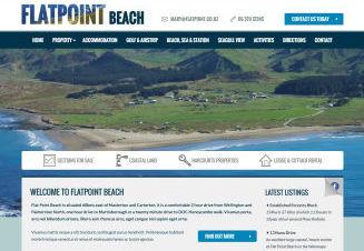 Flatpoint Beach