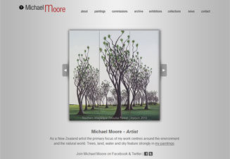 Michael Moore, Artist