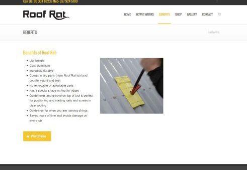 Roof Rat Tool