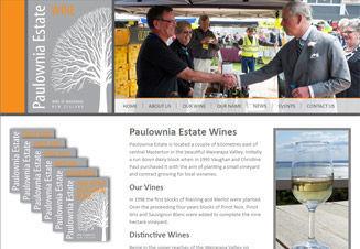Paulownia Estate Wairarapa Wine