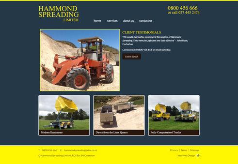 Hammond Spreading