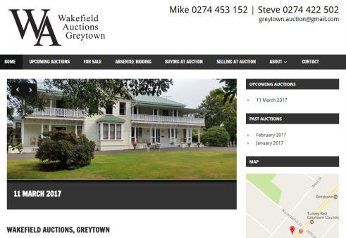 Wakefield Auctions Greytown