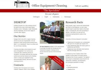 Desktop Office Equipment Cleaning
