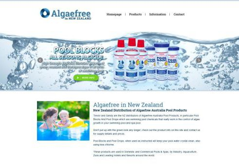 Algaefree in New Zealand